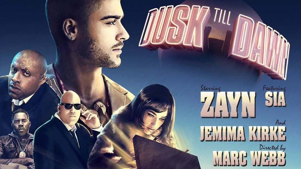 Zayn Malik y Sia - Dusk Till Dawn