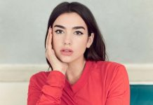 Dua Lipa en un photoshoot para Billboard Magazine