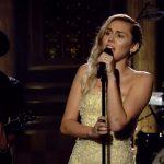 Miley Cyrus canta 'The Climb' en homenaje a las víctimas de las Vegas