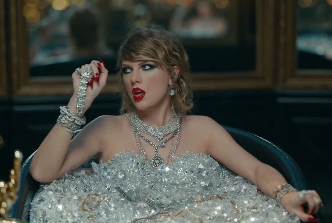 Taylor Swift en el vídeo de 'Look What You Made Me Do'