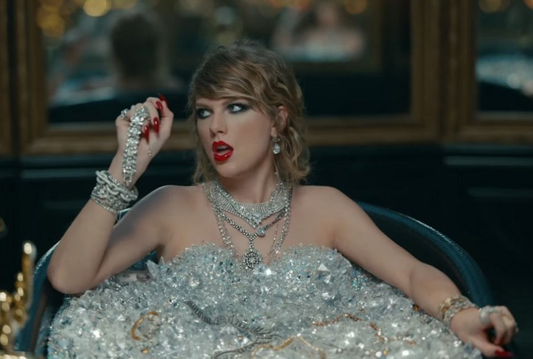 Taylor Swift en el vídeo de 'Look What You Made Me Do'
