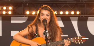 Amaia Romero en su casting de OT