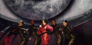 Camila Cabello cantando Havana